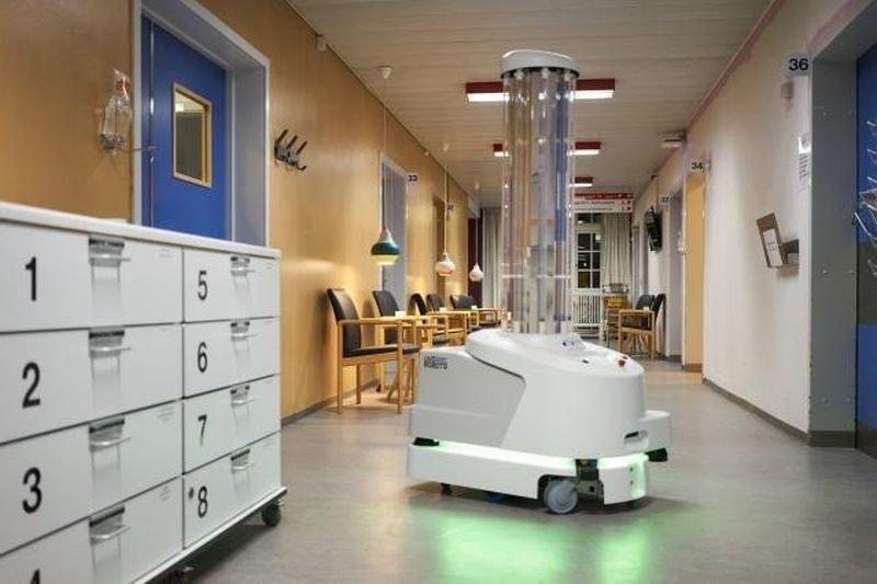 Първият робот за дезинфекция срещу COVID-19 пристига в Пловдив