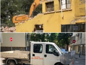 Три акта за шум отнесоха строителите в сградата, в която пропадна работник