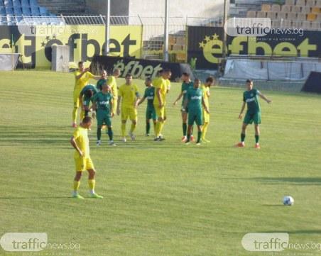 Марица обърна Нефтохимик в страхотна драма със седем гола