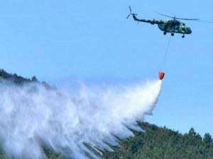 7 сериозни пожара в Карловско за ден! Огнищата край Розино са под контрол