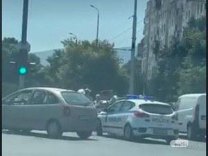 Катастрофа блокира възлов булевард в Тракия