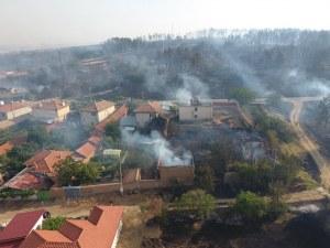 Призив от пожарната: Хора, спрете всякакви дейности по полето!