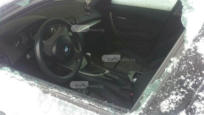 За уикенд: Млад пловдивчанин разби и обра три коли в Столипиново