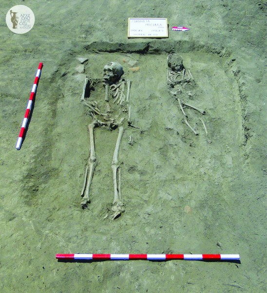 17 средновековни погребения и средновековен храм откриха археолозите в Голямата могила