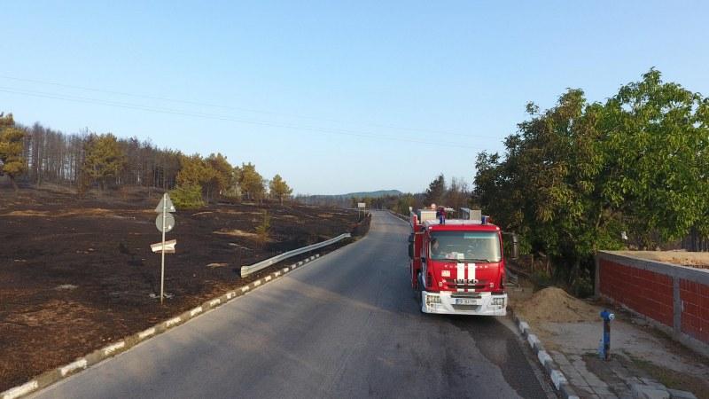 Община Пловдив съдейства за потушаване на пожарите в Старосел и Кръстевич