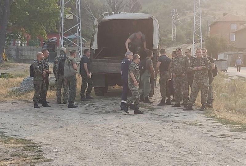 Военни гасят пожари в Пловдив, Хасково и Благоевград
