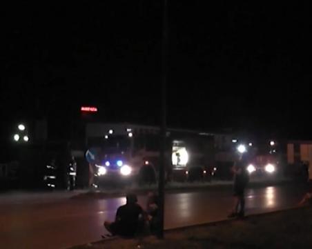 Два мотора се врязаха в ТИР във Враца, има загинал