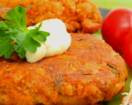 Зеленчукови кюфтенца на фурна - леко и здравословно ястие