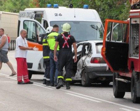 Tежка катастрофа на пътя Русе-Бяла, загина дете