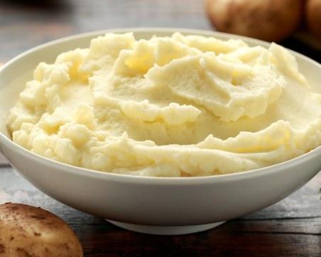 Пухкаво картофено пюре