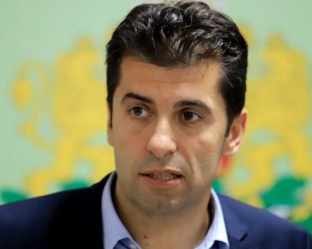 Кирил Петков за нов политически проект: В момента съм служебен министър, който трябва да е безпартиен