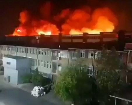 Експлозии избухнаха в Истанбул