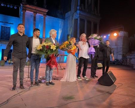 Концерт като в Холивуд на Античния театър в Пловдив СНИМКИ