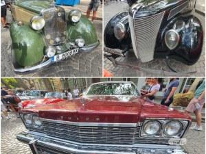 Пловдив се превърна в шоурум за ретро автомобили