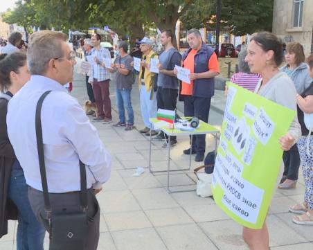 Протести срещу мръсния въздух се проведоха в няколко града