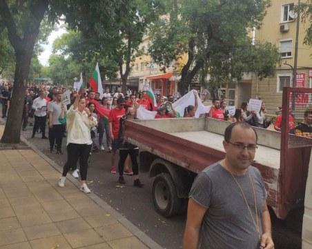 Голям протест на ресторантьорите в Кърджали блокира пътя към Гърция