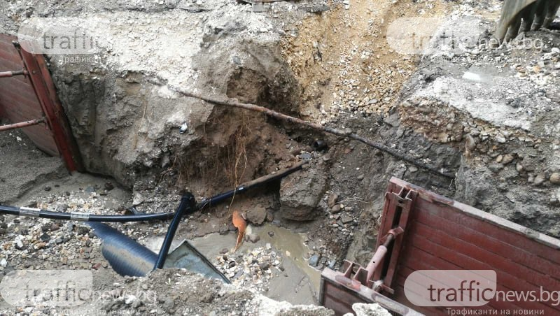 Четири ВиК аварии в Пловдив днес