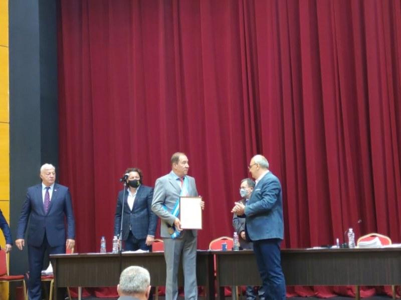 Удостоиха офталмолога д-р Димитър Тасков за Почетен гражданин на Пловдив