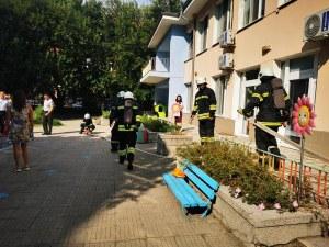 Пловдивски пожарникари