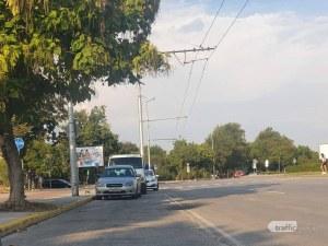 Велосипедистка отне предимство на автомобил в Тракия