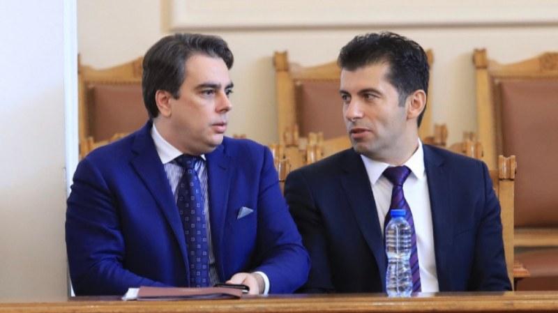 Кирил Петков и Асен Василев представят новия си политически проект утре