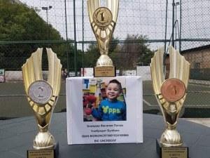 Благотворителен турнир събра 1320 лв. за малкия Божидар