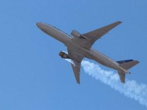 Самолет се върна в Пекин заради дим в пътническия салон