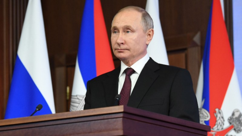 Путин се готви за пореден триумф днес