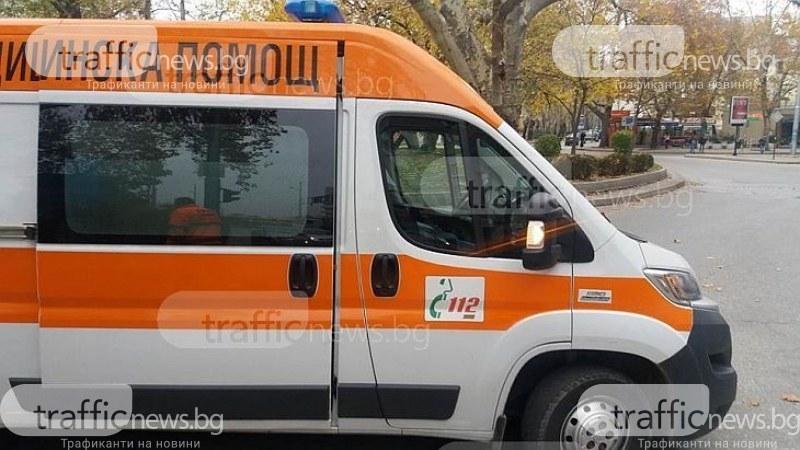 Шофьор загина намясто, а жена е в тежко състояние след удар на пътя София-Варна