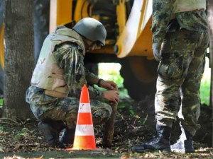 Откриха невзривен снаряд в района на Двореца на културата