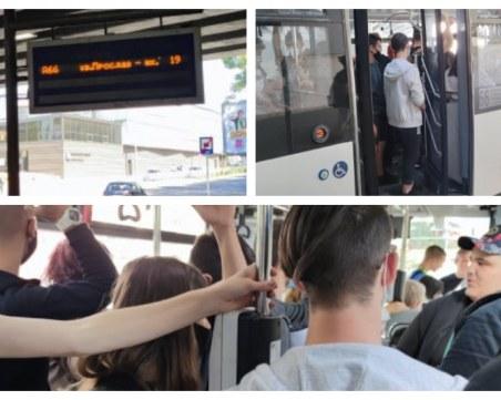 """Безвремието в градския транспорт на Пловдив – """"разреждането"""" на автобусите не е това, което беше"""
