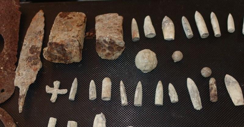 Удариха иманяр с антични находки край Каспичан