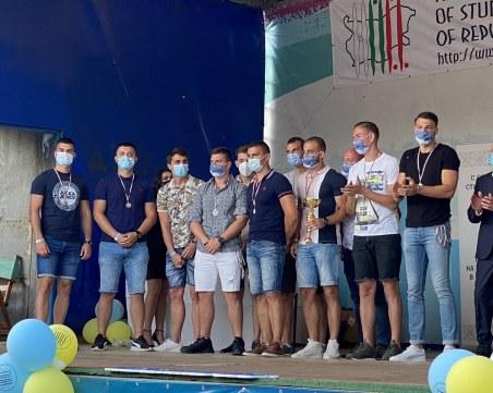 Бъдещи лекари от Пловдив в челната тройка на Националните летни студентски игри