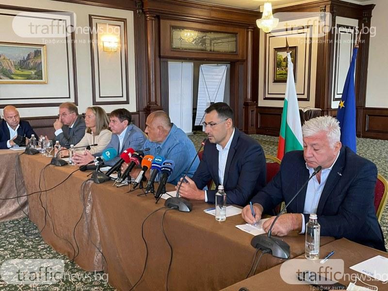 Борисов към Зико: Честито, никога няма да имате Околовръстно с такова управление