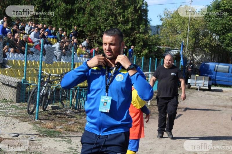 Николай Димитров: Надигравахме се със Славия, имаше фаул за нас при втория им гол