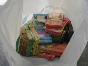 """Граничари хванаха на """"Калотина"""" банков обирджия с над 100 000 евро"""