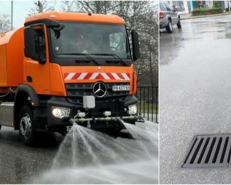 Чистят шахтите и мият улиците в Пловдив, вижте графика