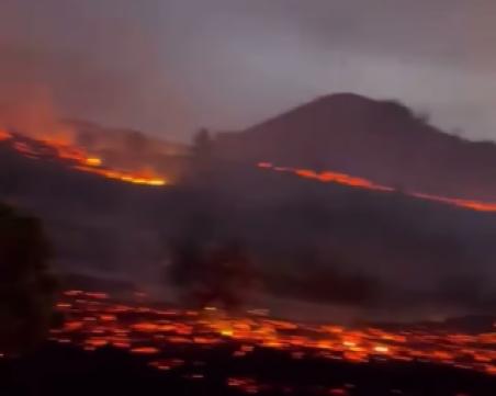 Вулканичните изригвания на Канарските острови се засилиха