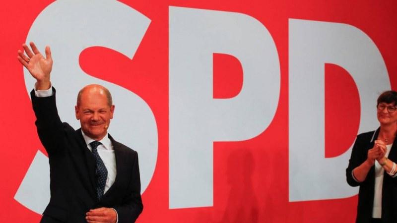 Прогнозни резултати: Социалдемократите печелят изборите в Германия