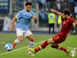 Лацио триумфира в дербито на Рим срещу Рома в голяма драма