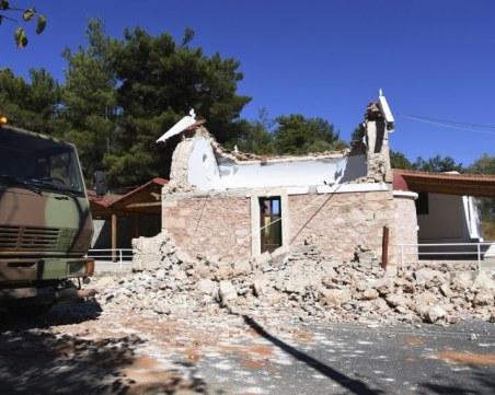 Обявиха извънредно положение на Крит заради силното земетресение