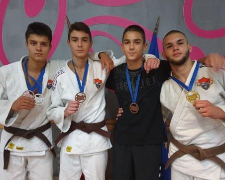 Пловдивски клуб с 11 медала от турнира по джудо
