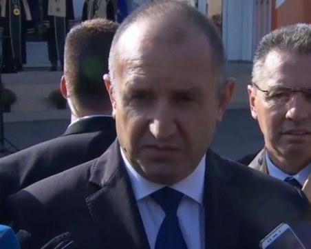 Президентът: Борисов да защити честта на ГЕРБ и да се кандидатира за президент