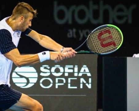 Прогрес в класирането за родните тенисисти преди Sofia Open