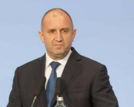 Румен Радев: Президентството се утвърди като стълб на стабилност на фона на безпрецедентния срив на доверие в политическата система