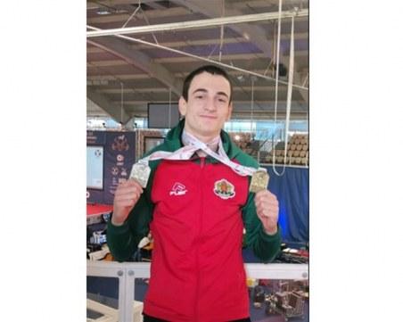 Трети медал за България от Европейското по щанги