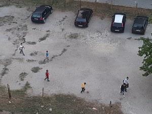 Спортна площадка в центъра на Пловдив се превърна в