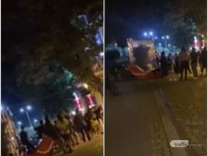 Люта чалга оглася центъра на Пловдив!  Азис, румънско и за капак… химнът на България