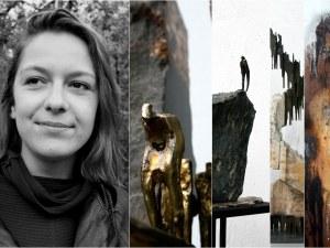 Михаела Каменова показва в Пловдив със силата на метала и камъка душевността на човека