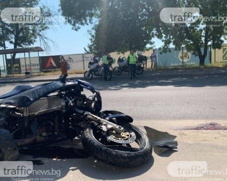 Млад мотоциклетист загина след катастрофа с комбайн във Варненско
